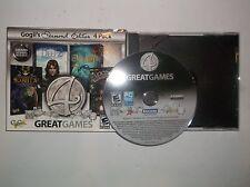 4 Great Games Diamond Edition (Windows/Mac, 2012) PC