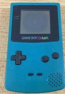Nintendo Game Boy Color CGB-001 - Teal Blue - 100% OEM FPOR For Parts Repair