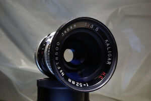 KALIGAR H.C.52mm WIDE ANGLE F3.5 ARRI RED  GFX-50s SONY FULL FRAME M44 ADAPTED
