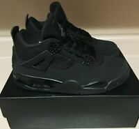 Nike Air Jordan 4 IV Retro Black Cat 4-13 Light Graphite CU1110-010