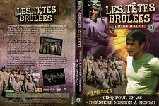 LES TETES BRULEES - Intégrale kiosque - dvd 9  - 2 Episodes