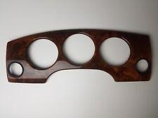 1998-2003 Jaguar XJR XJ8 Vanden Plas Speedometer Cluster Gauge Trim Cover Wood