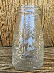 Jumbo Elephant Peanut Butter Glass Jar Frank Tea & Spice SCARCE 5 1/2 oz Tapered