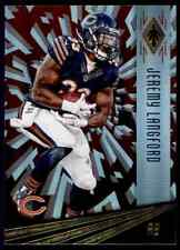 2016 PANINI PHOENIX RED JEREMY LANGFORD CHICAGO BEARS #19 PARALLEL