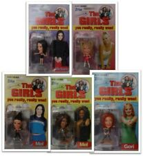 Spice Girls 1997 The Girls Topps Europe Figures *All 5 MIP