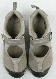 Merrell Chameleon Arc Jump Brown Mary Jane Sneakers J35030 Girls Size 4 EU35