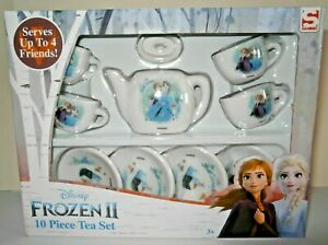 Disney Frozen 2, 10 piece Ceramic Tea Set Serves up to 4 friends 3+