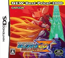 DS RockMan Zero Collection Best Version Japan Import Japanese Game