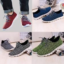 Nuevo para hombre Zapatillas De Moda Informal Deporte Deportivo Correr Zapatos