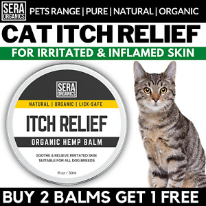 Cat Skin Itchy Skin Cream for Paws Nose Dry Skin Inflammation - Lick-safe