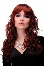 bouclé SUBLIME Perruque rouge auburn env 60 cm long m-103-350