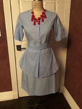 COS Baby Blue Shirt Dress Sz 8