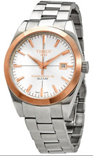 NEW Tissot Watch T-Gold 18K S. Steel Swiss Made Automatic Powermatic 80 Silicium