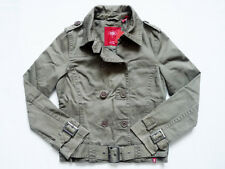 NEW WITH TAG ESPRIT Belted NYC Dance Academy Trench/Motorcycle Jacket Size Small