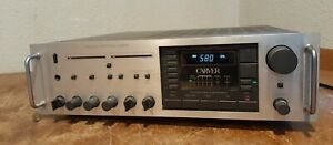 Carver MXR130 Magnetic Field Power Amplifier Receiver working