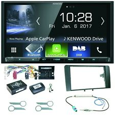 Kenwood DMX-7017DABS Bluetooth Carplay Android Auto Einbauset für Audi A3 8P 8PA