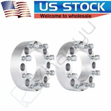 "2Pcs 2"" 50mm Thick Wheel Spacers 8x170mm Fits 2003-2018 Ford F-350 Super-duty"