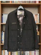 Rare £229 Mens Barbour Steve McQueen Trophy Navy Black Wax Jacket Medium 38