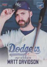 2021 Oklahoma City Dodgers Matt Davidson Los Angeles