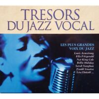 TRESORS DU JAZZ VOCAL Armstrong/Fitzgerald/Holiday/Vaughan/Sinatra Coffret 4CD'S