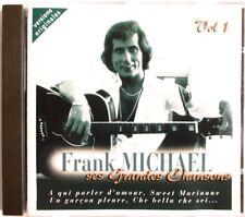 """FRANK MICHAEL - CD """"SES GRANDES CHANSONS - VOL 1"""""""