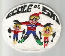 ECOLE DE SKI enfant station montagne écusson / patch 83.5X7 cm / 2
