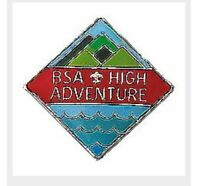 BOY SCOUT OFFICIAL BSA NATIONAL HIGH ADVENTURE HAT LAPEL PIN JAMBOREE CAMP NEW