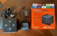 Amazon Fire TV Cube (2nd Gen) 4K UHD Media Streamer - Used