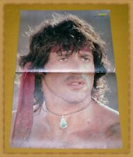 Rambo (Sylvester Stallone) - Double face 80er Bravo poster