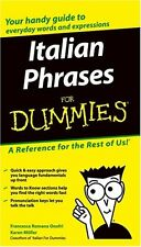 Italian Phrases For Dummies by Onofri, Francesca Romana