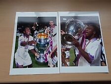2 Real  Photo's Of CLARENCE SEEDORF Of Real Madrid -Both From The Same Estate