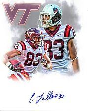 Corey Fuller Virginia Tech Hokies signed autographed 8x10 football photo COA c