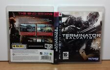 TERMINATOR SALVATION - PS3 - PlayStation 3 - PAL - Usato