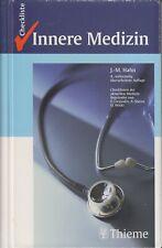 Checkliste Innere Medizin von Johannes-Martin Hahn 2003 4. Auflage