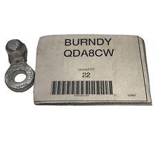 (1) Burndy QDA8CW Copper Mechanical Connector 4-8 AWG NEW