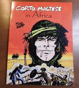 CORTO MALTESE IN AFRICA by Hugo Pratt NBM 1987 F+