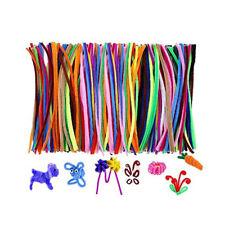 100pcs Colorful Pipe Cleaner Practical Chenille Stem Multi Usage Fiber Pipe Stem