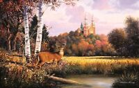 Sacred Refuge (Church Deer Pond Woods) 550pc SunsOut Puzzle 75137