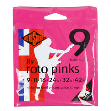ROTOSOUND Electric Guitar String R9 Roto Pinks Super Light/Gauges 9~42(3pack)