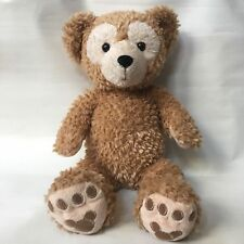 DISNEY DUFFY The Bear Hidden Mickey Mouse Plush Bear Tan Stuffed Animal Toy 16""