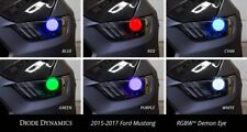 2015 2016 2017 Mustang RGBW Demon Eye Kit w/ Bluetooth Controller Diode Dynamics