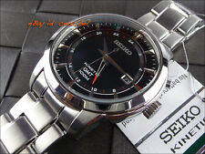 Fantástico Seiko SUN033P1 Kinetic GMT 100M  SUN033