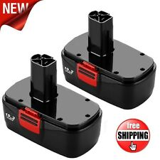 2 Pack of Craftsman DieHard C3 19.2Volt NiCd Battery Replacement Craftsman 11375