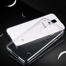 Ultra Delgada Transparente Tpu Gel Skin Funda Protectora + temperglass Para Samsung Galaxy S4 Neo