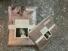 Kylie Minogue at Home Luciana King Size Duvet 2x Housewife Pillowcase Blush Pink