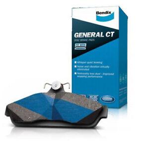 Brake Disc Pad Set  Bendix DB1796 GCT For MITSUBISHI COLT RG 1.5