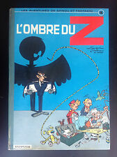 Spirou et Fantasio L'ombre du Z EO 1962 TRES BON ETAT Franquin Jidehem Greg