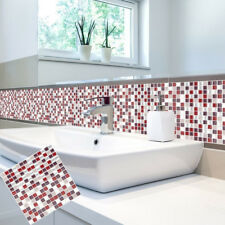 Self Adhesive Mosaic Wall Tile Sticker Room Bathroom Kitchen Home Decor W5