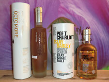 Octomore 6.3 Islay Barley 258ppm/64%/70cl & Port Charlotte Islay Barley 50%/70cl