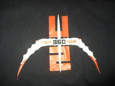 "U2 ""360 DEGREES"" Concert Tour (XL) Shirt BONO EDGE ADAM CLAYTON LARRY MULLEN JR"